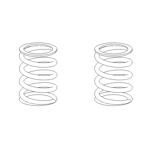 No. 129 - Ball spring (2pcs)