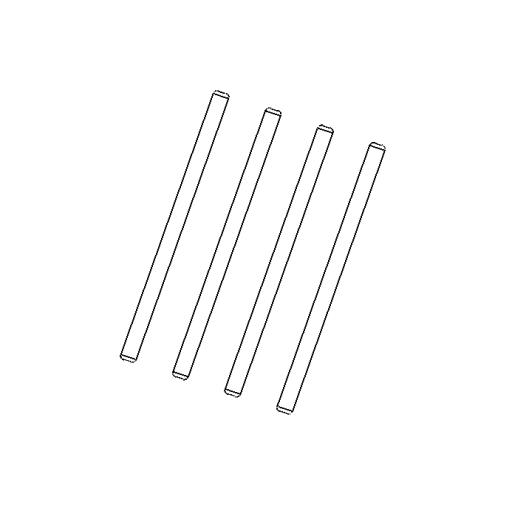 No. 138 - Guide pin (4pcs)