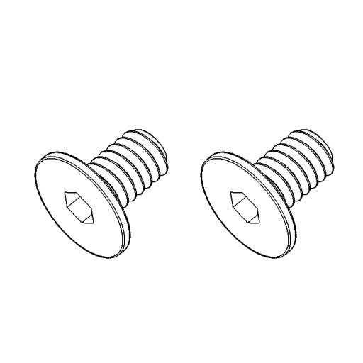No. 143 - Slide screw (2pcs)