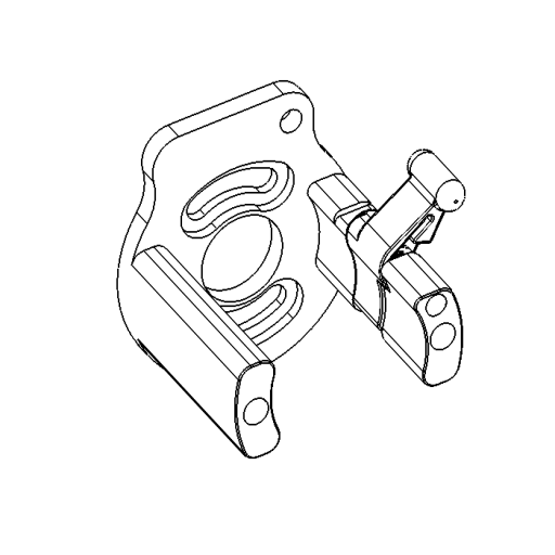 No. 75 - Motor bracket assembly