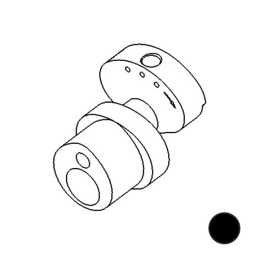 No. 80 - Cam 3.5mm stroke Standard (Black)